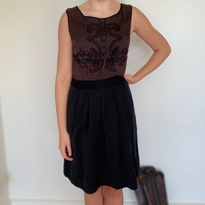 Leifnotes Anthropologie Dress Size 8